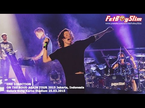 1d One Direction - What Makes You Beautiful Live In Jakarta, Indonesia 2015 video
