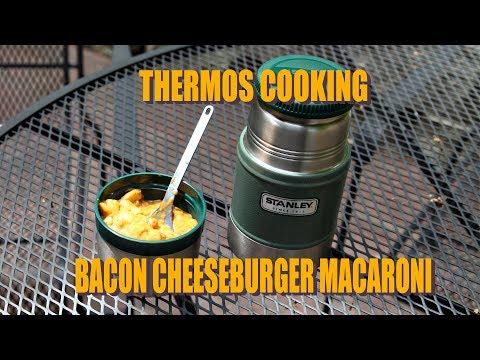 Thermos Cooking:  Bacon Cheeseburger Macaroni