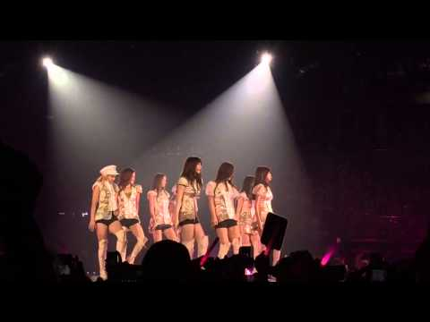 Genie : 140111 GG World Tour in Bangkok Girls & Peace [Fancam]