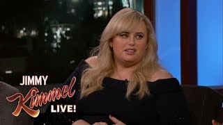 Rebel Wilson on Touching Anne Hathaway's Boob & Tom Hardy's Butt