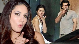 Sunny Leone REACTION On Mahira Khan Trolled For Pics With Ranbir