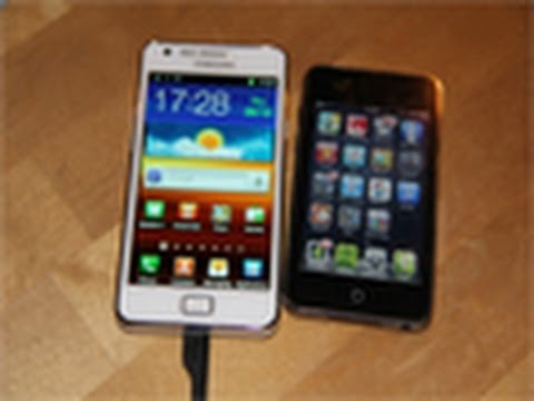 White Samsung Galaxy S2 Unboxing! Apple iPhone 4S Killer! (HD) Review