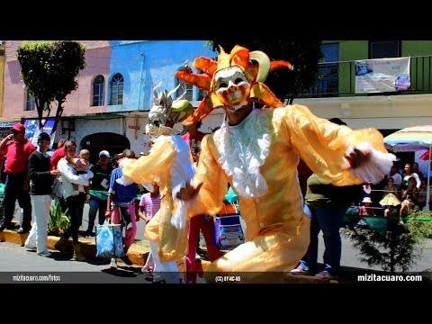 Desfile de Primavera Zitácuaro 2014 - Carnaval de la Mariposa Monarca