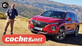 Hyundai Santa Fe 2018 SUV | Primera prueba / Test / Review en español | coches.net