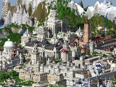 Minecraft Huge Imperial City Update 9 Map Download Youtube