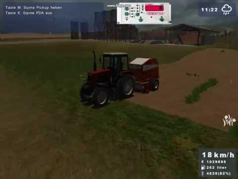 Landwirtschafts Simulator 2009-sianokosy-1 pokos