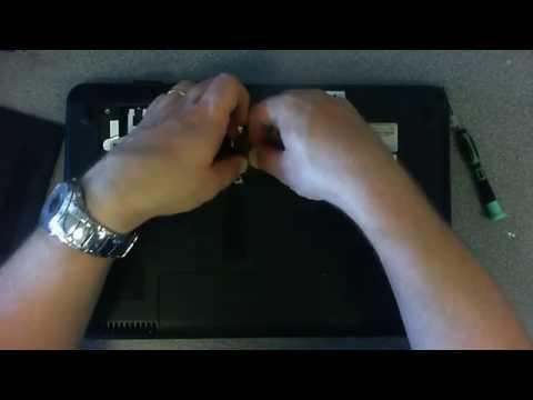 Laptop Repair Compaq Presario CQ60 cmos battery replacement