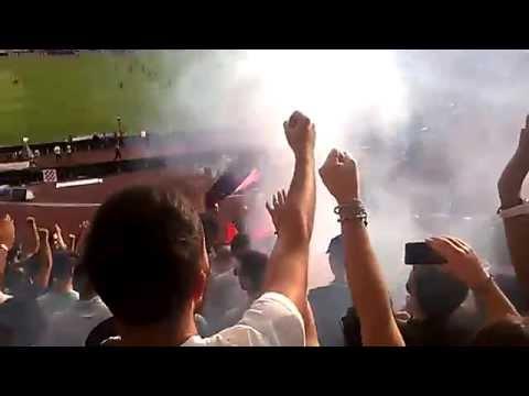 Annuncio Gol Napoli-Fiorentina CURVA B LORENZO INSIGNE