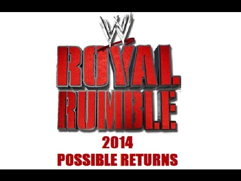 My take on possible returns for the 2014 Royal Rumble and why. To see why i have included those featured in this video, make sure to have annotations enabled...