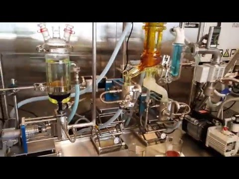 Root sciences short path distillation system (the clear)