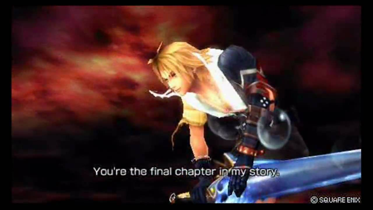 Final Fantasy Dissidia Battle Quotes Best Ones YouTube