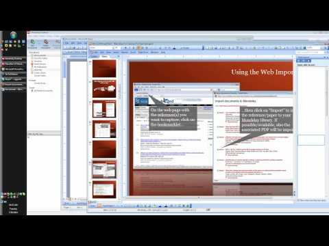Webinar - Mendeley for Librarians (2011-07-26)