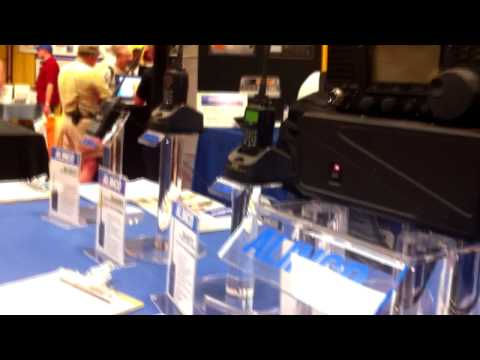 New Alinco DX-SDRT HF Transceiver at Dayton Hamvention 2012
