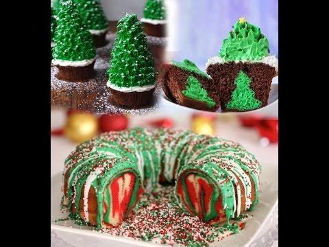 Christmas Cake And Cupcake Recipes   Three Amazing Ideas .