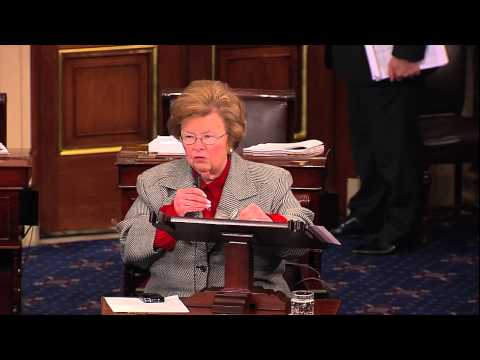 Mikulski Urges Fast Action to Avoid Fiscal Cliff and End to Culture of Delay