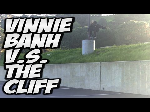 VINNIE BANH V.s. THE CLIFF !!! - A DAY WITH NKA -