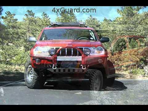 Jeep Grand Cherokee Wk Roof Racks Youtube