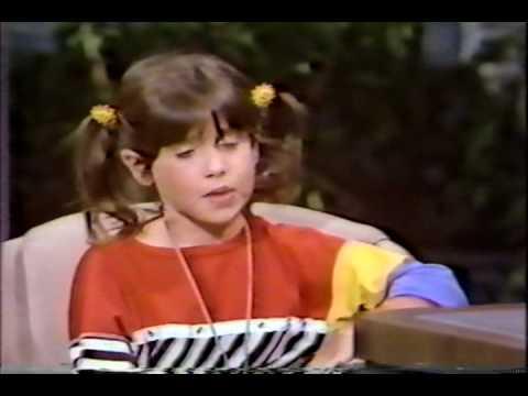VINTAGE 80'S PUNKY BREWSTER SOLEIL MOON FRYE TV INTERVIEW