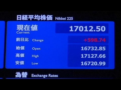 Nikkei übersteigt 17.000-Punkte-Marke - economy