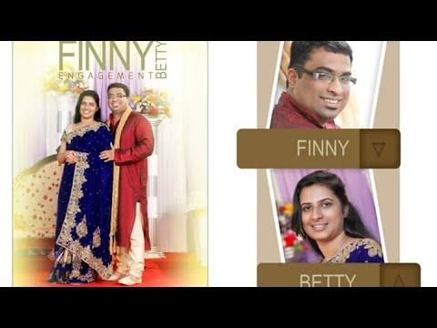 Kerala christian wedding highlights Finny + Betty (finny and betty)