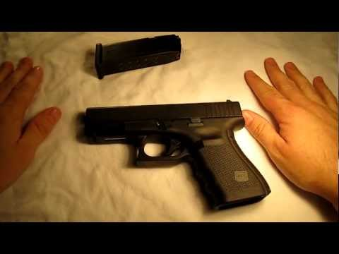 Glock 23 Gen 4 w/back straps - Basic breakdown and field strip. Universal Glock