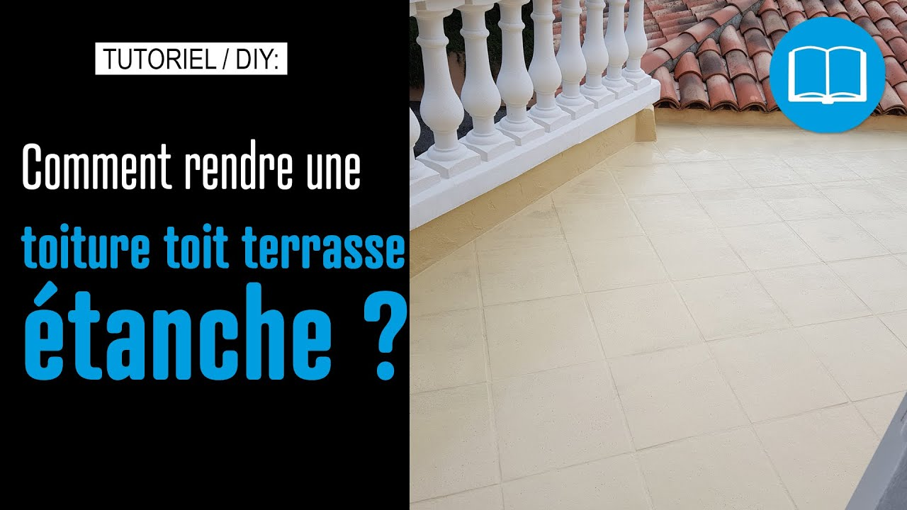 Tanch it toiture toit terrasse circulation l g re et for Goudron sur carrelage
