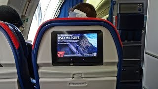 THE DELTA COMFORT+ LONG HAUL EXPERIENCE! | SALT LAKE CITY - AMSTERDAM | BOEING 767