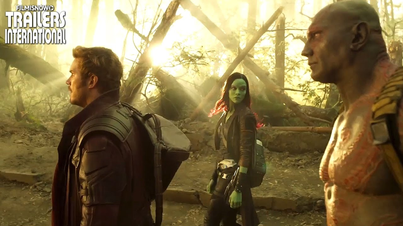Guardiões da Galáxia Vol.2 Primeiro Teaser Trailer