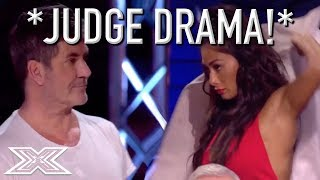 Judge Storms Off Stage After Argument With Simon Cowell