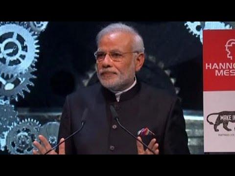 PM Modi woos german investors, promises stable environment
