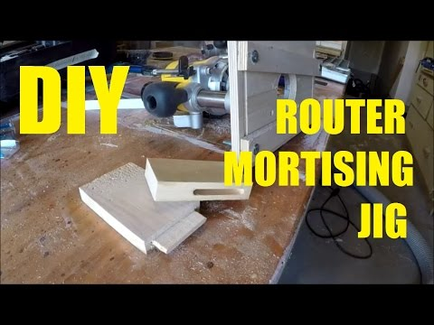 How To Make A Router Mortising Jig