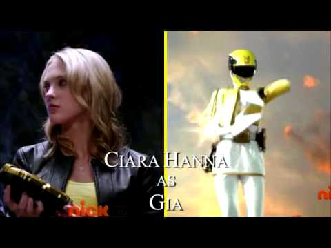 Mighty Morphin' Power Rangers Megaforce Intro
