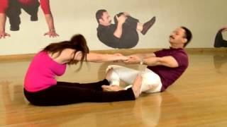 Couple stretch - Mickey Mehta's Super Sacred Sexercise