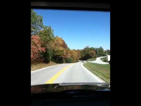 Amazing Fall Color. My drive down DD HWY.  Branson, West, MO.