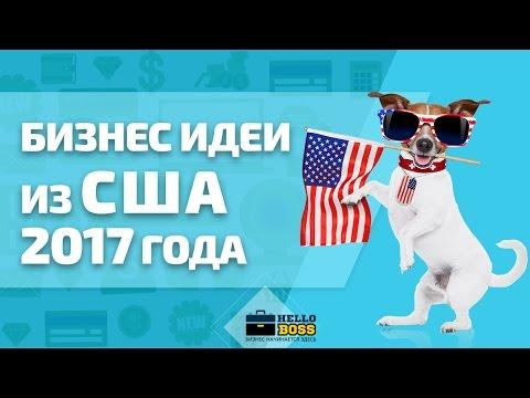 Бизнес идеи из США 2017 года. Новые идеи для малого бизнеса