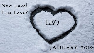 LEO: New love!  True love? January 2019