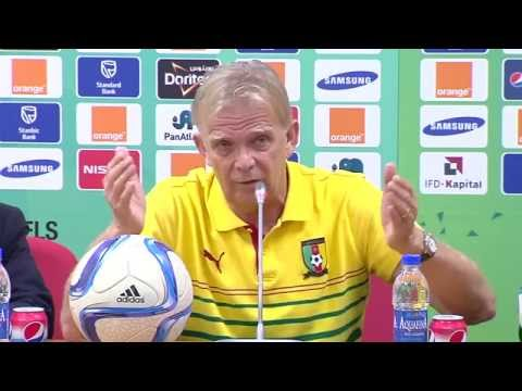 Cameroun - Conférence de presse (27/01) - Orange Africa Cup of Nations, EQUATORIAL GUINEA 2015