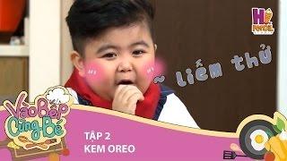 Vào bếp cùng bé   Tập 2: Tin Tin siêu dễ thương trổ tài làm kem với Thanh Hà và Ngọc Hân
