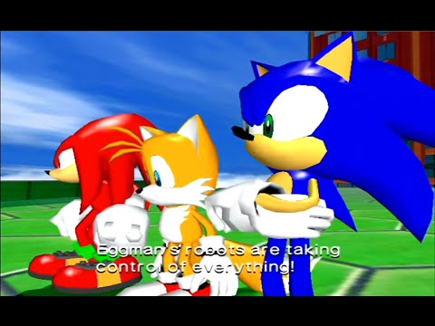SGB Play: Sonic Heroes (Team Sonic) - Part 2