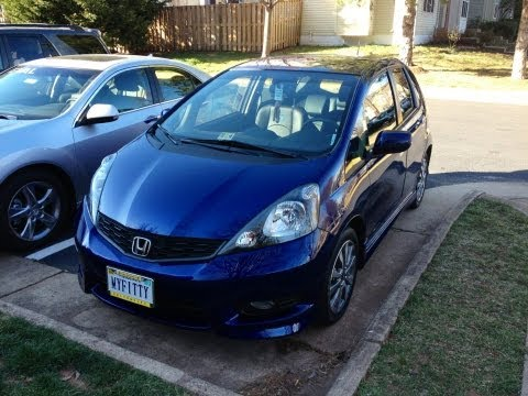 2012 Honda Fit Sport 6 Month Review and Sport Driving