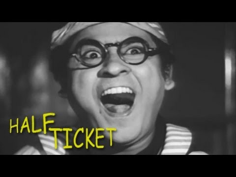 Half Ticket - Kishore Kumar Madhubala - Movie in 15 Minutes