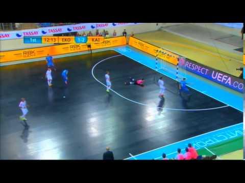 Kairat-Ekonomac. UEFA Futsal Cup Elite round. 23.11.2014