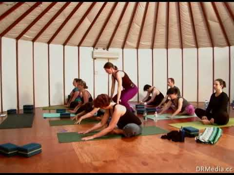 90 minute Anusara Yoga class with Marie Lumholtz