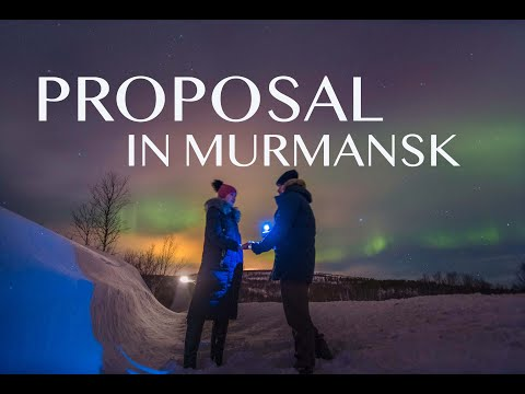 VLOG 19 LONG DISTANCE RELATIONSHIP | MURMANSK NORTHERN LIGHTS SWEETEST PROPOSAL | PINOY