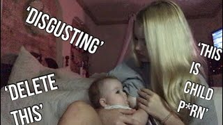 PUBLIC BREASTFEEDING AS A TEEN MOM (RANT)