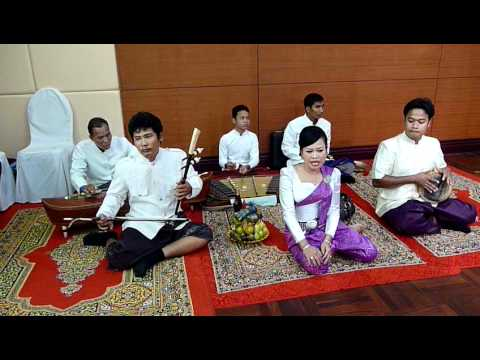 Khmer wedding music at Sokha hotel Sihanoukville Cambodia.