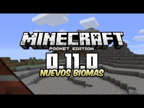Noticias Minecraft PE 0.11.0   Nuevos biomas   Tommaso y Johan