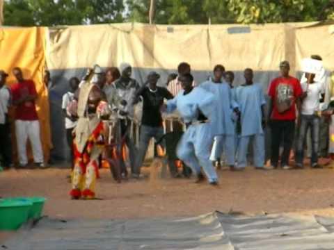 Sabar dance in Louga, Senegal