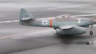 Free Wing MODEL Messerschmitt Me 262, Maiden flight