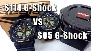 $114 G-Shock vs $85 G-Shock 5081 GA-100-1A9